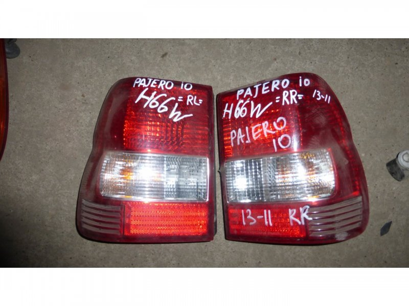 Стоп-сигнал Mitsubishi Pajero Io H76W задний правый (б/у)