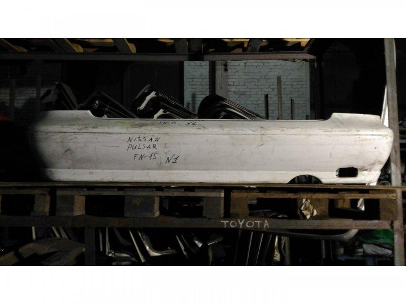 Бампер Nissan Pulsar FN15 GA15DE задний (б/у)