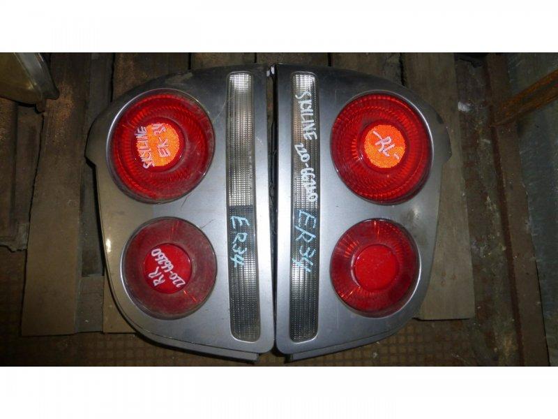 Стоп-сигнал Nissan Skyline ER34 задний левый (б/у)