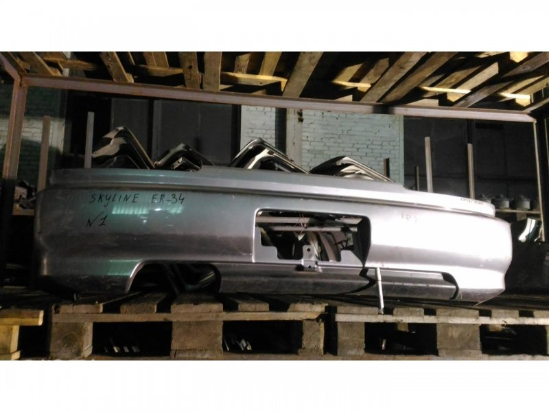 Бампер Nissan Skyline ER34 RB25-DE задний (б/у)