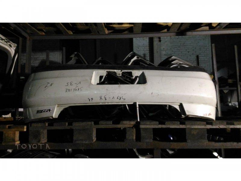 Бампер Nissan Skyline V35 VQ25-DD задний (б/у)