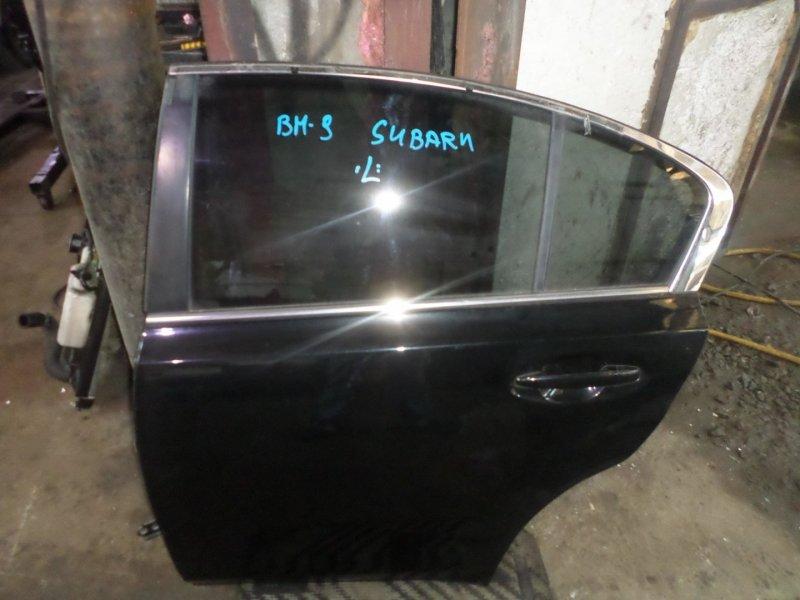 Дверь Subaru Legacy B4 BM9 EJ253 2010 задняя левая (б/у)