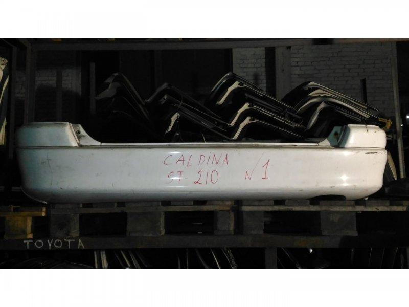 Бампер Toyota Caldina ST210 3S-FE задний (б/у)