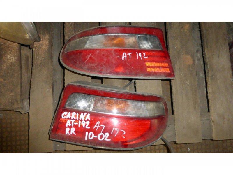 Стоп-сигнал Toyota Carina AT192 задний левый (б/у)