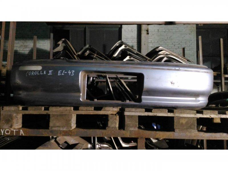 Бампер Toyota Corolla Ii EL43 5E-FE задний (б/у)