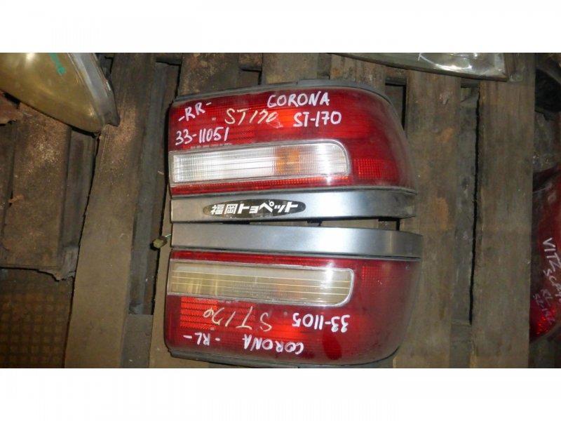 Стоп-сигнал Toyota Corona ST170 задний левый (б/у)