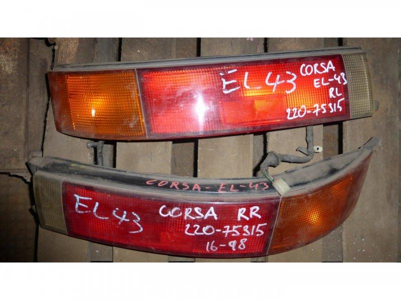 Стоп-сигнал Toyota Corsa EL43 задний левый (б/у)