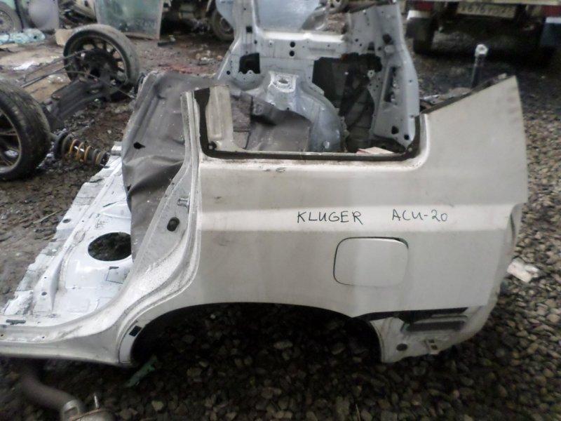 Крыло Toyota Kluger ACU20 заднее левое (б/у)