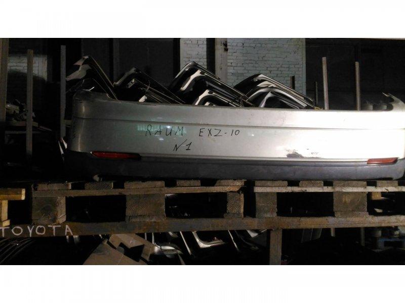 Бампер Toyota Raum EXZ10 5E-FE задний (б/у)