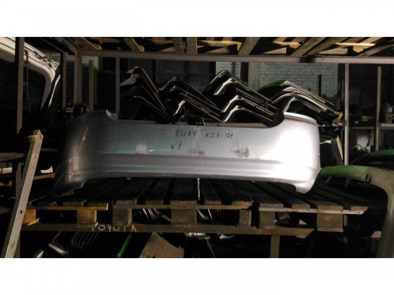 Бампер Toyota Runx NZE121 1NZ задний (б/у)