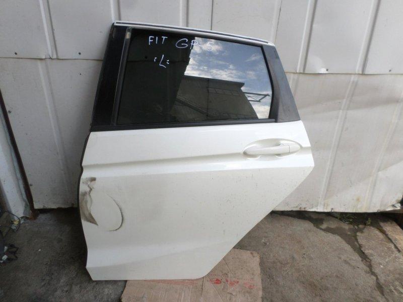 Дверь Honda Fit GP5 задняя левая (б/у)