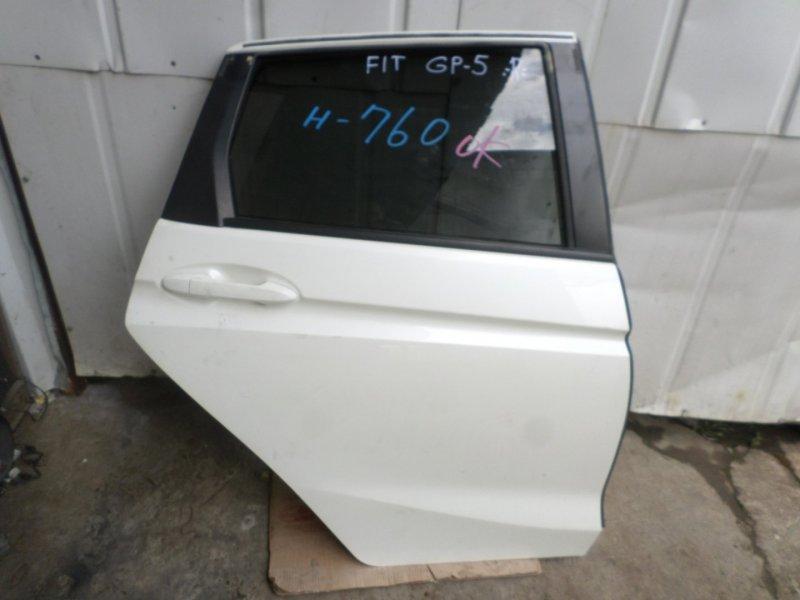Дверь Honda Fit GP5 задняя правая (б/у)