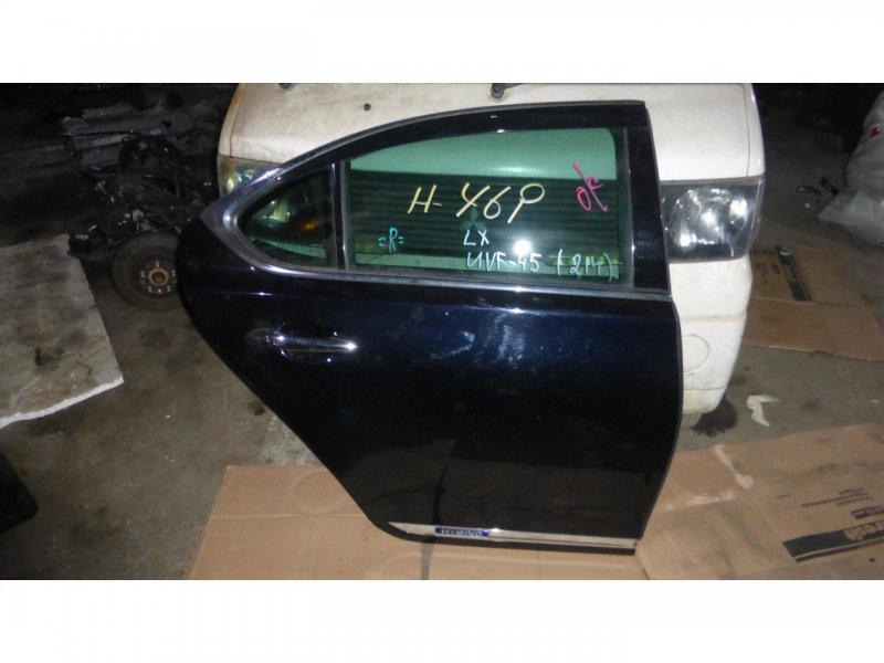 Дверь Lexus Ls600H UVF45 задняя правая (б/у)