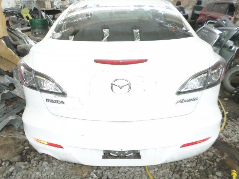 Бампер Mazda Axela BL5FP ZY 2013 задний (б/у)