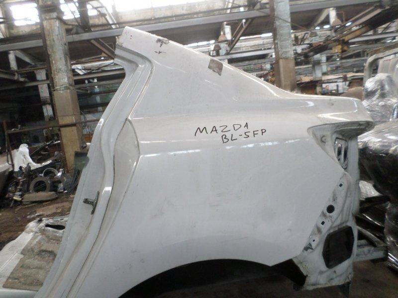 Крыло Mazda Axela BL5FP ZY 2013 заднее левое (б/у)