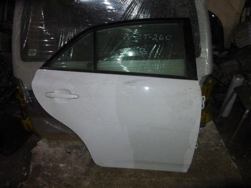 Дверь Toyota Allion NZT260 задняя правая (б/у)
