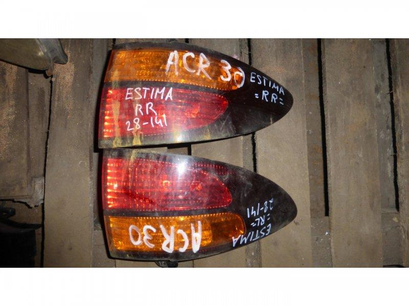 Стоп-сигнал Toyota Estima ACR30 задний левый (б/у)