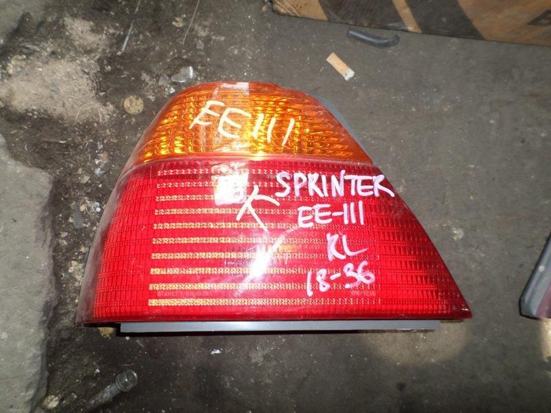 Стоп-сигнал Toyota Sprinter EE111 задний левый (б/у)