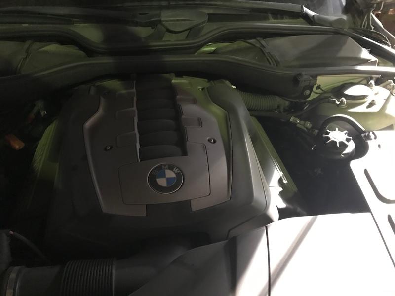 Двигатель Bmw 740I E66 N62B40A 2008 (б/у)