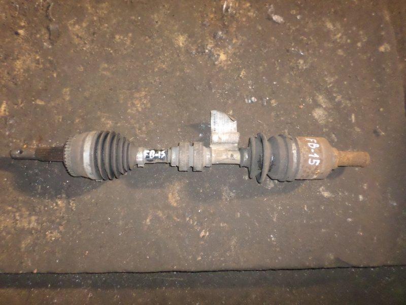 Привод Nissan Sunny FB15 передний левый (б/у)