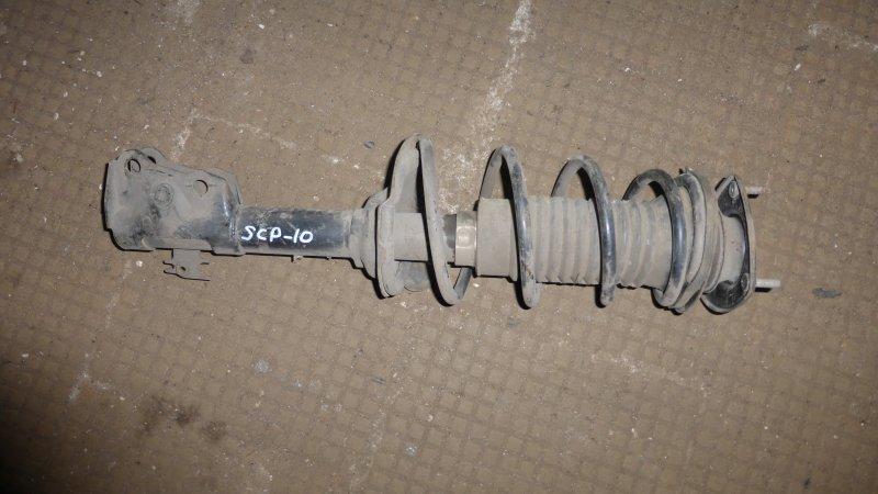 Стойка Toyota Vitz SCP10 передняя (б/у)