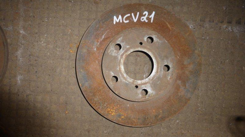 Диск тормозной Toyota Mark Ii Qualis MCV21 (б/у)