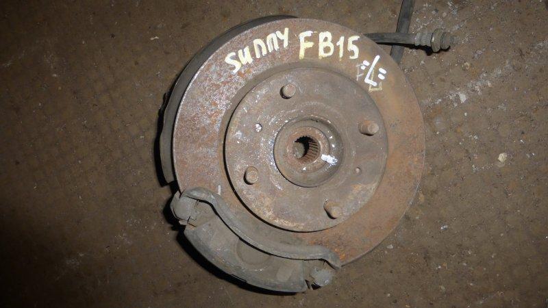 Ступица Nissan Sunny FB15 передняя левая (б/у)