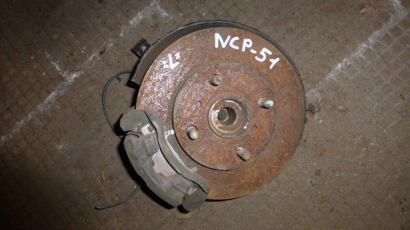 Ступица Toyota Probox NCP51 передняя левая (б/у)