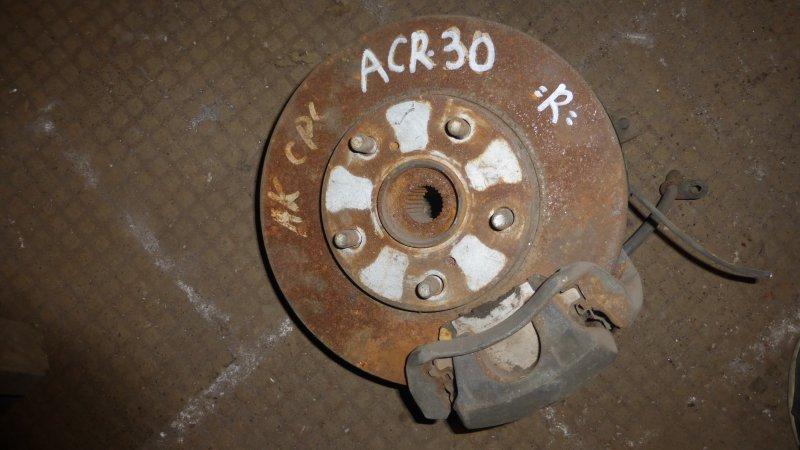 Ступица Toyota Estima ACR30 передняя правая (б/у)