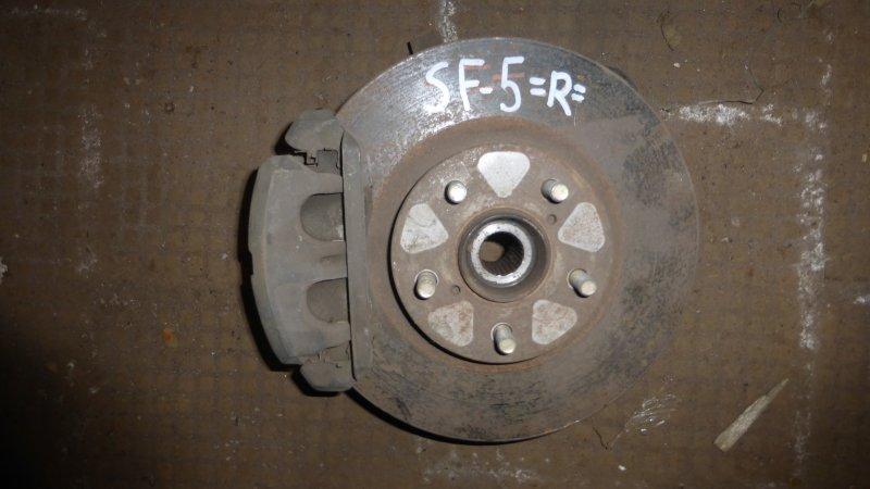 Ступица Subaru Forester SF5 передняя правая (б/у)