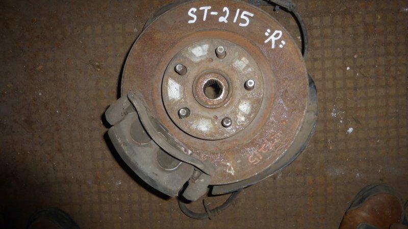 Ступица Toyota Caldina ST215 передняя правая (б/у)