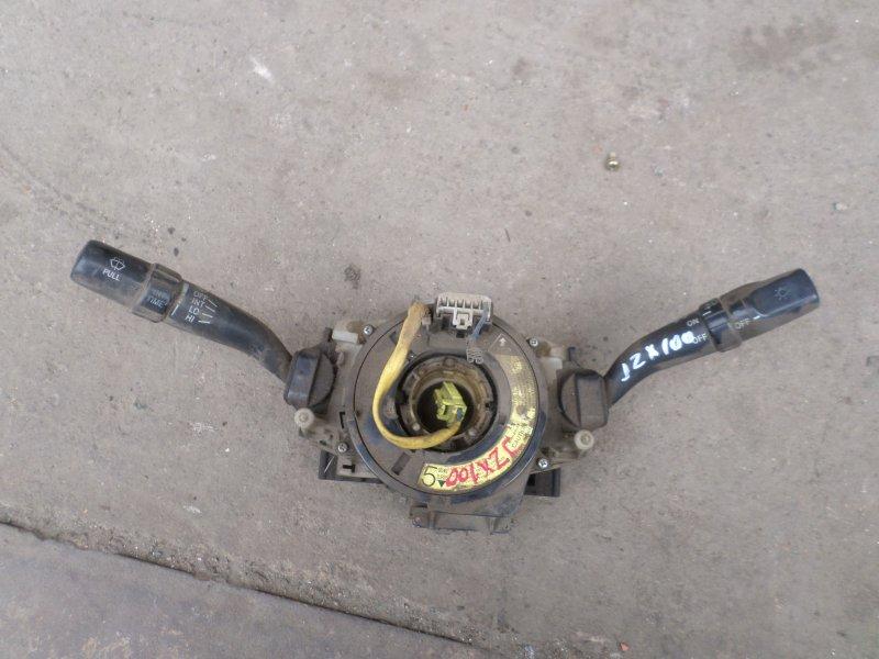 Подрулевой переключатель Toyota Mark Ii JZX100 (б/у)