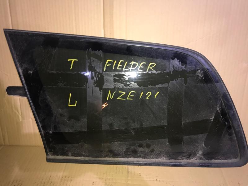 Стекло собачника Toyota Corolla Fielder NZE121 1NZ 2005 левое (б/у)
