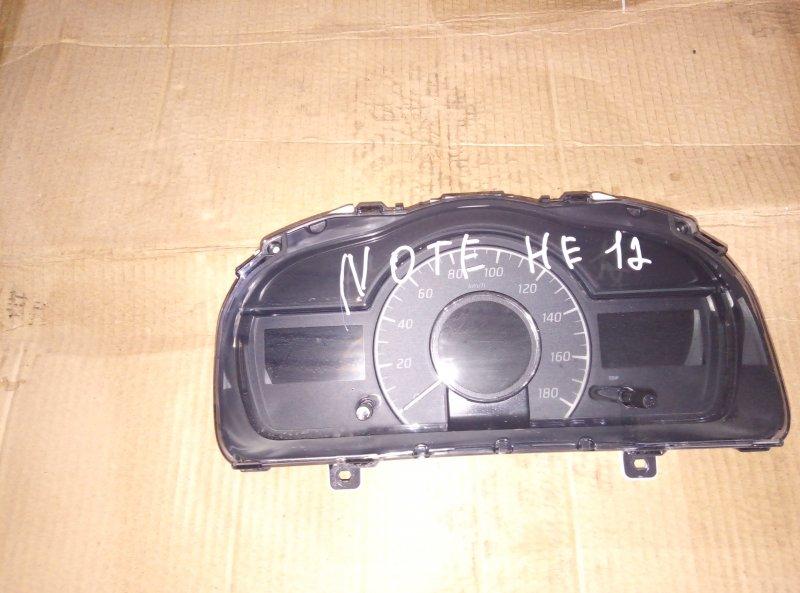 Спидометр Nissan Note HE12 HR12 (б/у)