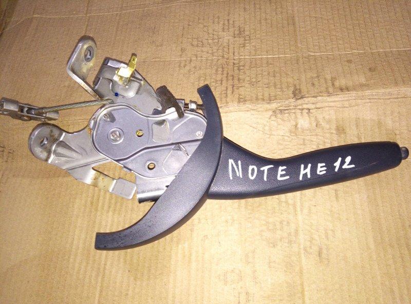 Ручка ручника Nissan Note HE12 HR12 (б/у)