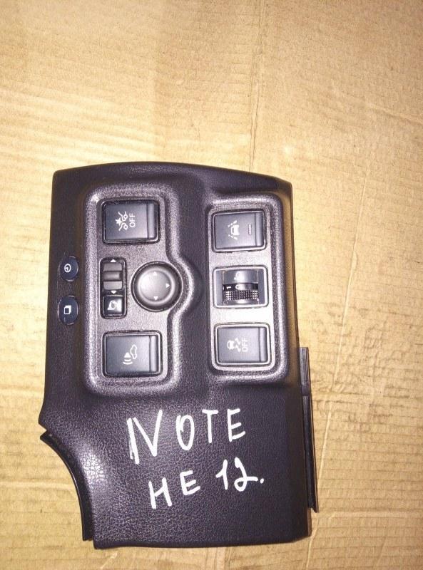 Пульт управления зеркалами Nissan Note HE12 HR12 (б/у)