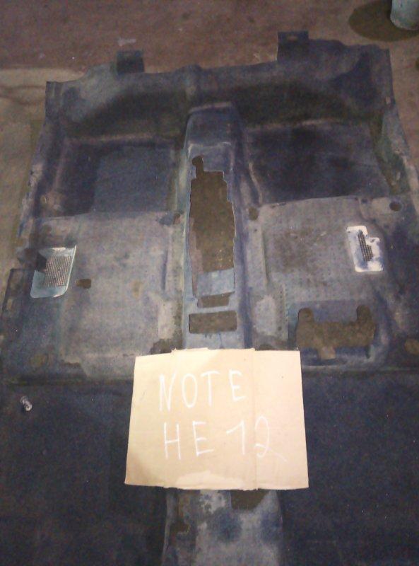Ковер пола Nissan Note HE12 HR12 (б/у)