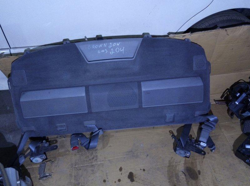 Пластик салона Toyota Crown GWS204 2GR 2012 задний (б/у)