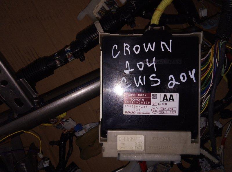 Электронный блок Toyota Crown GWS204 2GR 2012 (б/у)