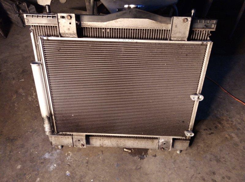 Радиатор основной Toyota Rush J210E 3SZ (б/у)