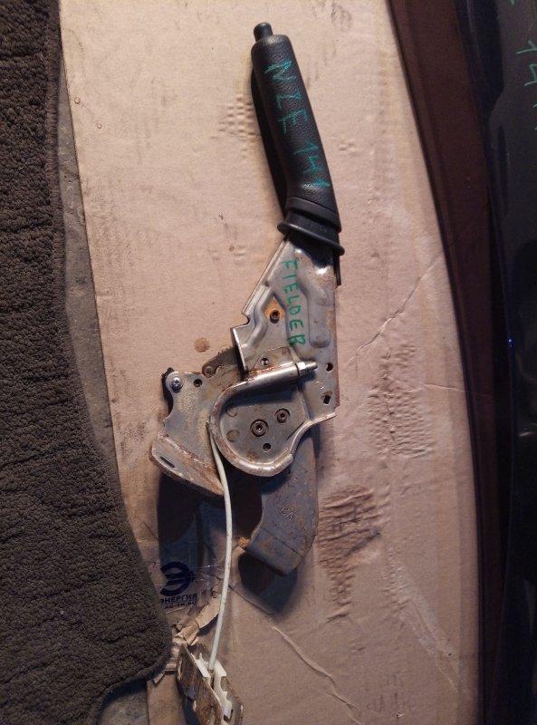 Ручка ручника Toyota Corolla Fielder NZE141 1NZ 2011 (б/у)