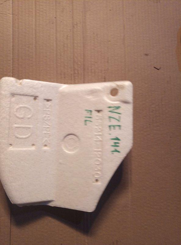 Пенопласт в ноги Toyota Corolla Fielder NZE141 1NZ 2011 (б/у)