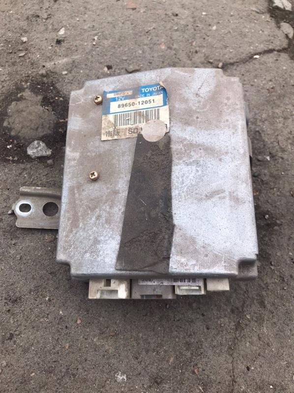 Блок управления рулевой рейкой Toyota Corolla Fielder NZE121 1NZ 2001 (б/у)