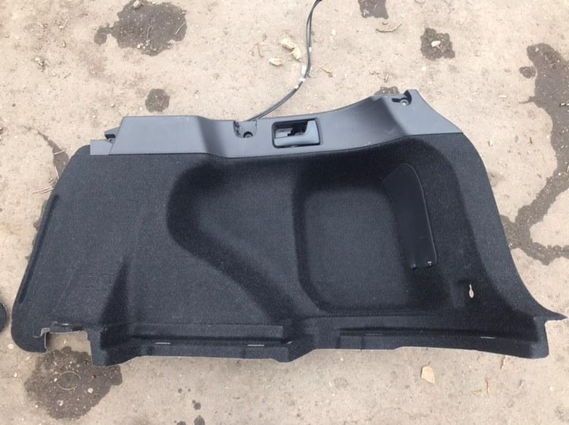 Обшивка багажника Toyota Corolla Fielder NZE141 1NZ 2011 правая нижняя (б/у)