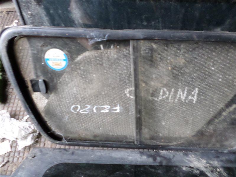 Стекло собачника Toyota Land Cruiser FZJ80 правое (б/у)