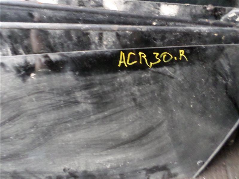 Стекло собачника Toyota Estima ACR30 левое (б/у)