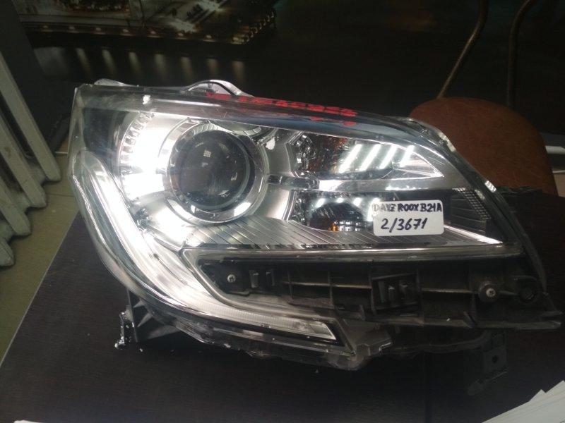 Фара Nissan Dayz Roox B21A 2015 правая (б/у)