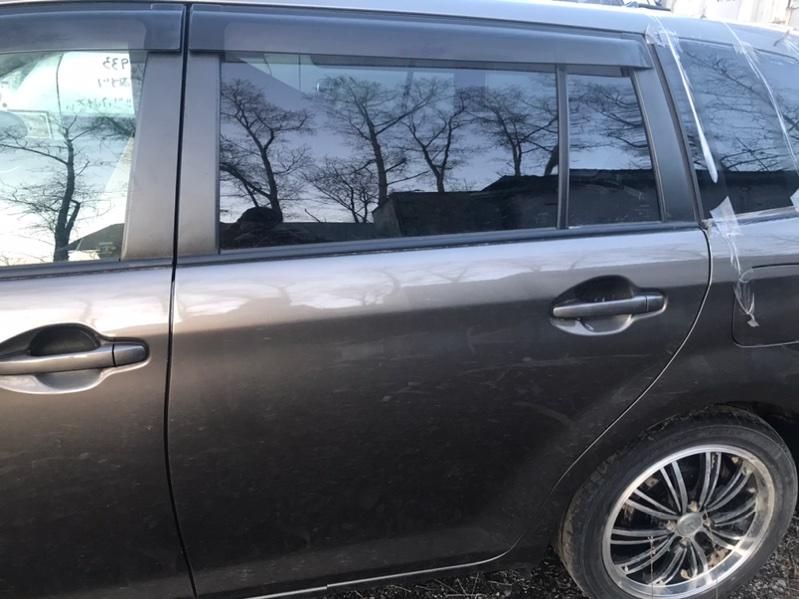 Дверь Toyota Corolla Fielder NZE164 1NZ задняя левая (б/у)