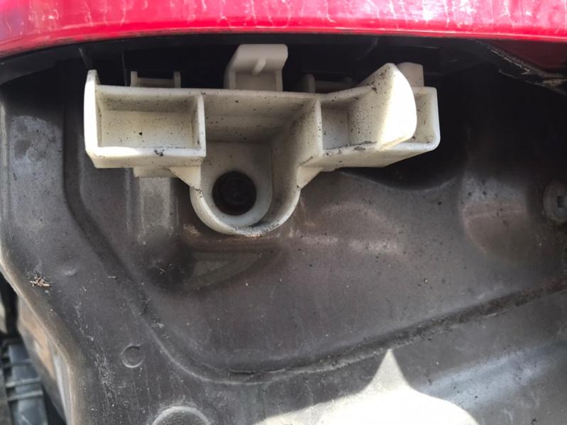 Крепление бампера Toyota Corolla Fielder NZE164 1NZ заднее левое (б/у)