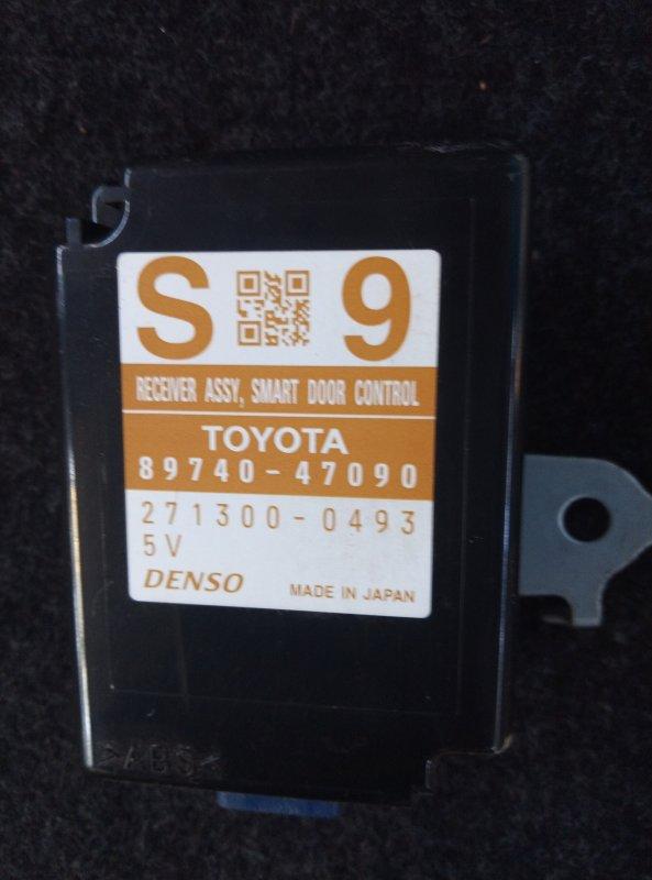 Блок управления дверьми Toyota Prius Alpha ZVW41 2ZR (б/у)